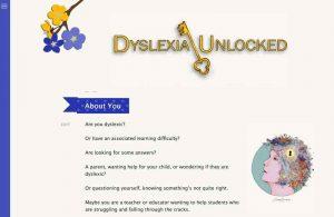 Dyslexia Unlocked web site