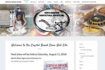 Crystal brook show website