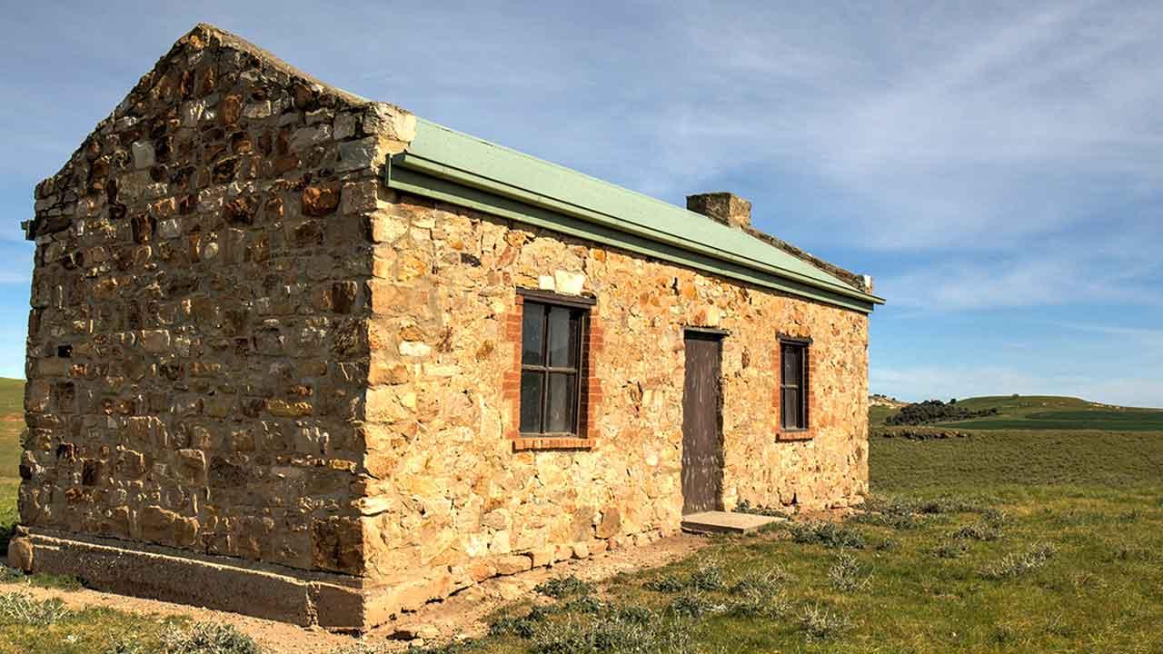 Hiskey Hut near Georgetown South Australia